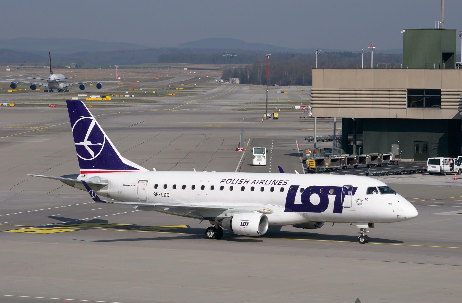 odwołany lot PLL Lot